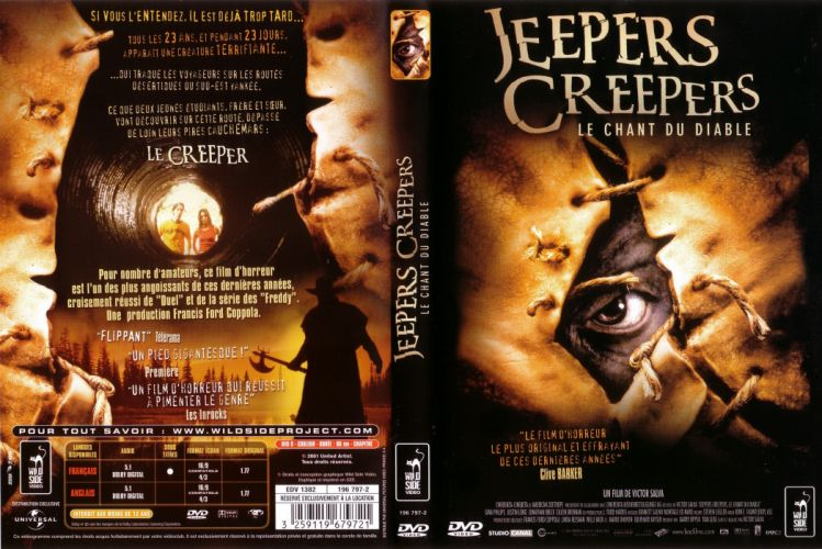 JEEPERS CREEPERS dark horror poster f wallpaper