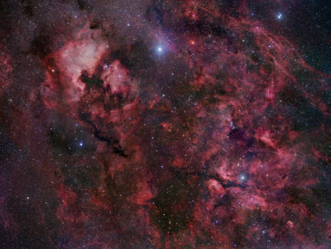 nebula stars 4 wallpaper