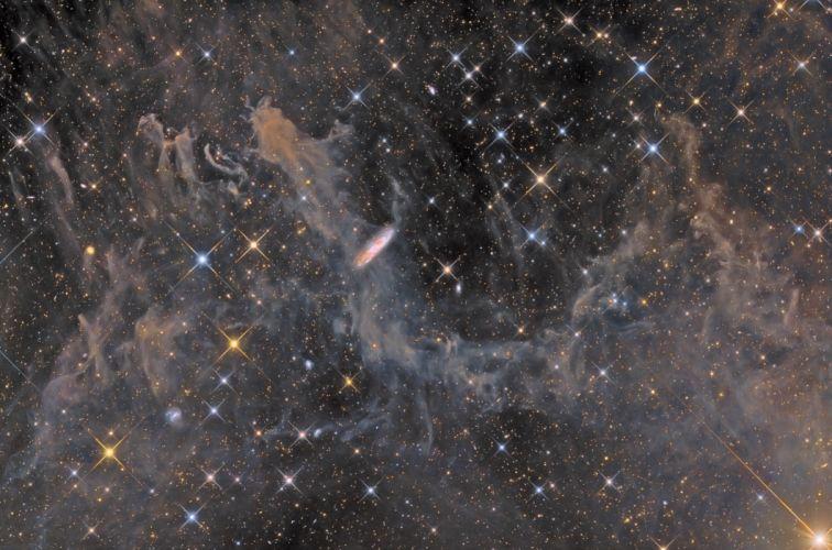 nebula stars bokeh n wallpaper