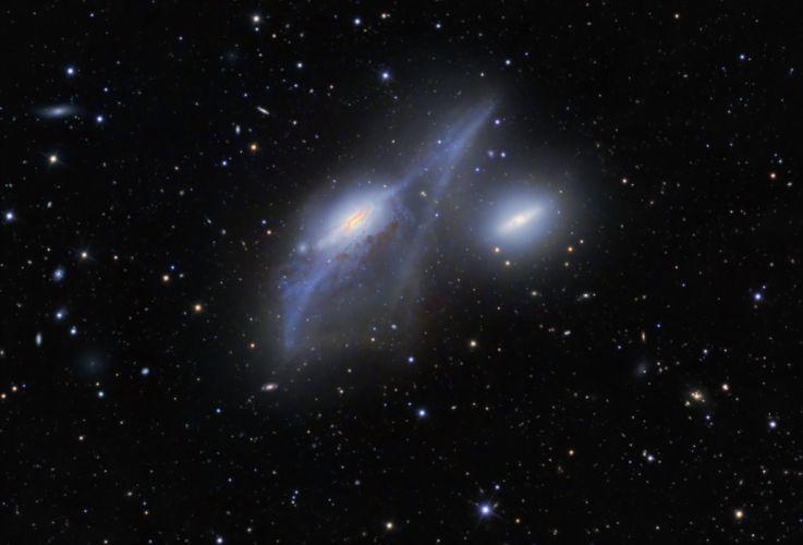 nebula stars galaxy hf wallpaper
