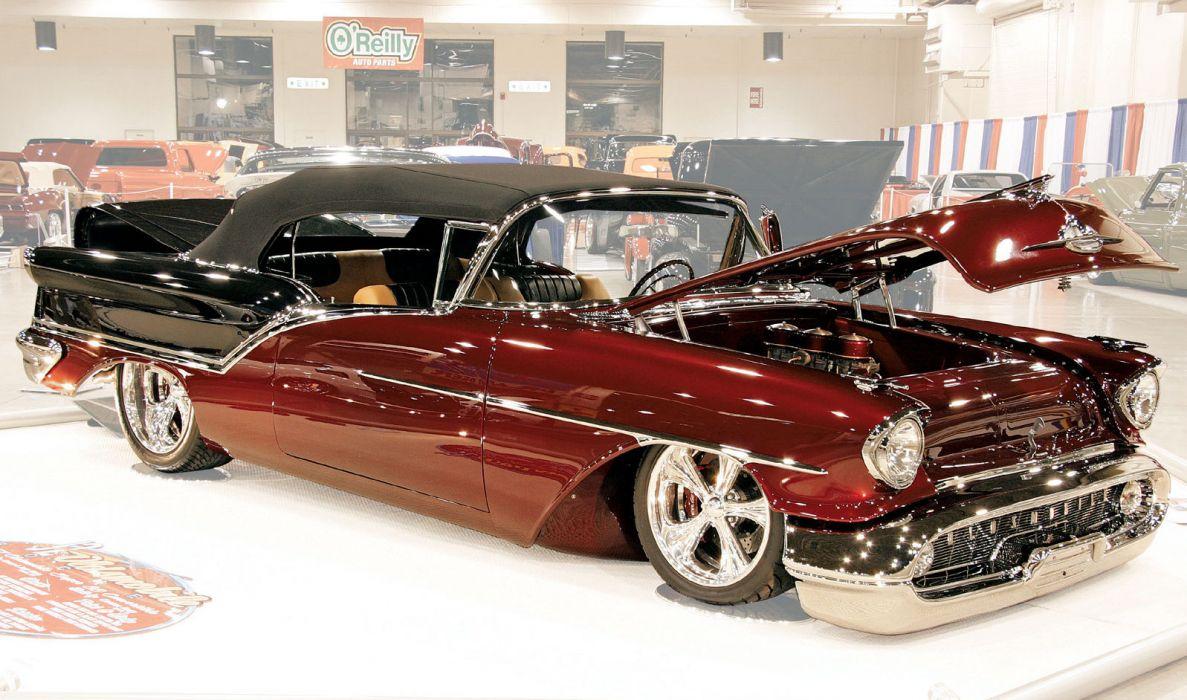 57 Oldsmobile Convertible wallpaper