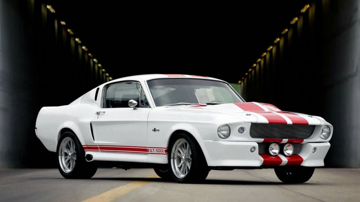 65 Shelby Mustang GT 500E wallpaper