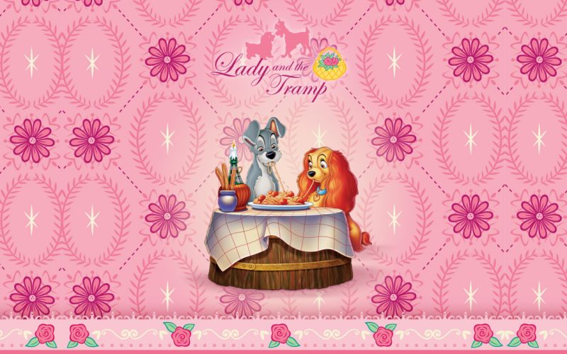 LADY AND THE TRAMP disney y wallpaper