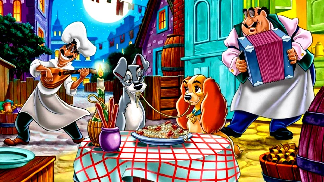 LADY AND THE TRAMP disney   ti wallpaper