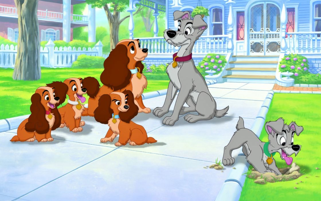 LADY AND THE TRAMP disney   g wallpaper