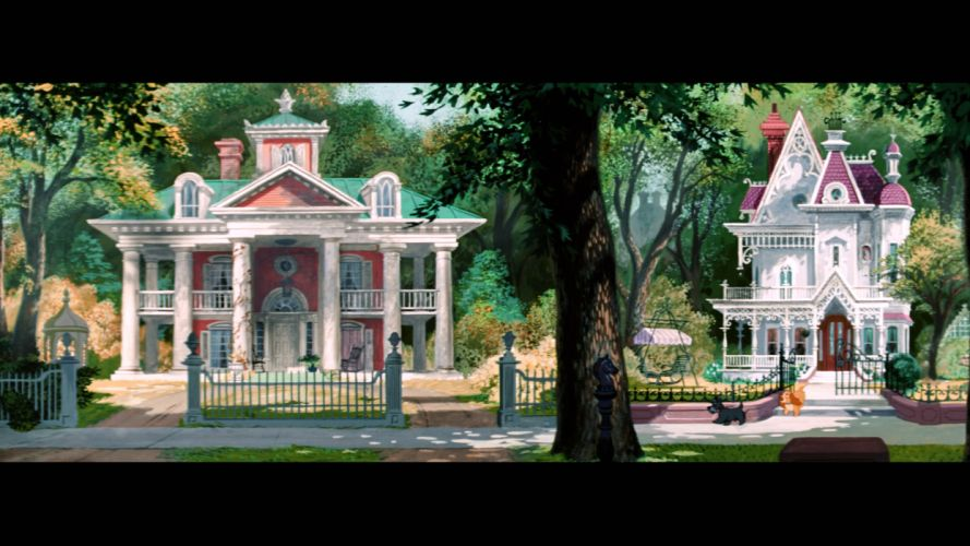 LADY AND THE TRAMP disney w wallpaper