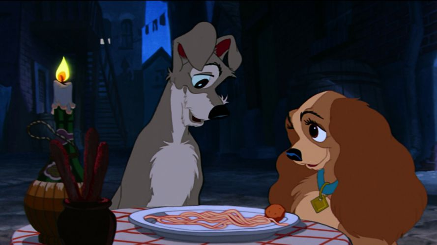 LADY AND THE TRAMP disney ye wallpaper