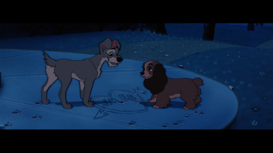 LADY AND THE TRAMP disney 4o wallpaper