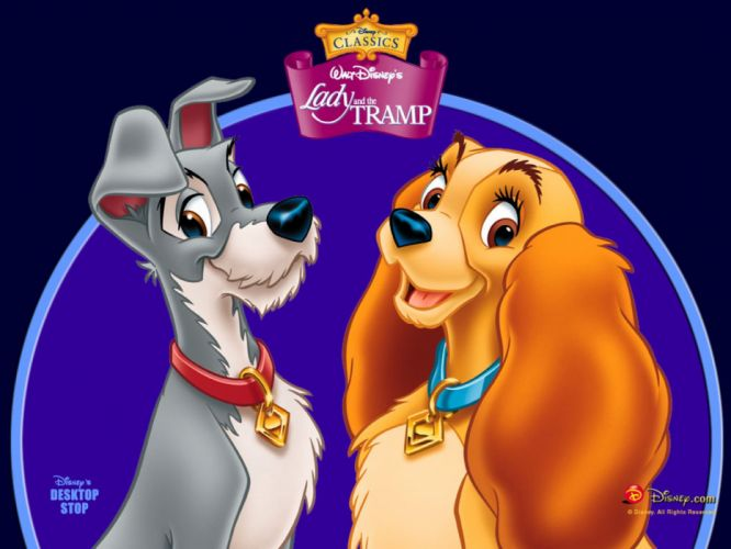 LADY AND THE TRAMP disney poster h wallpaper