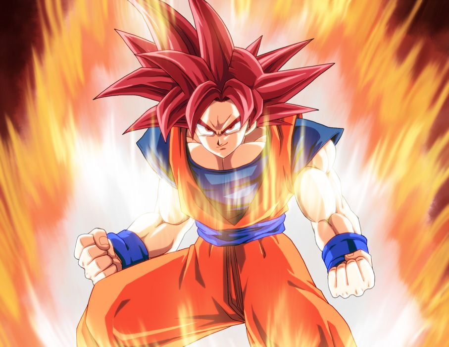 DragonBall Z Battle of Gods Super Saiyan God kamishima kanon tagme wallpaper