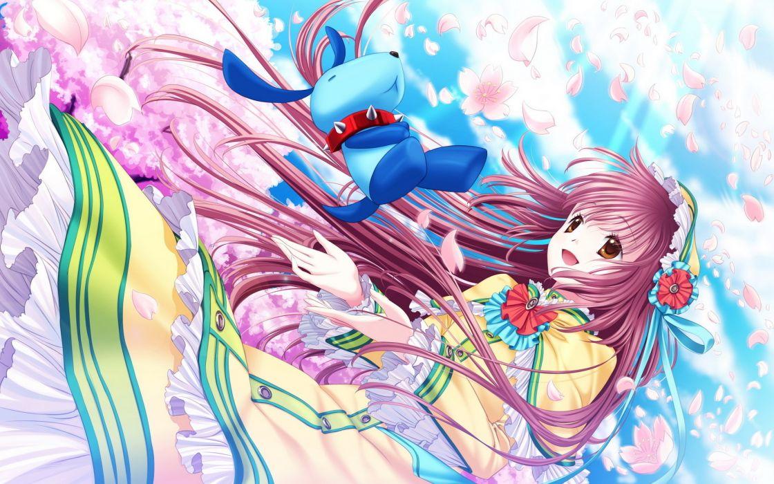 Hanato Kobato original     f wallpaper