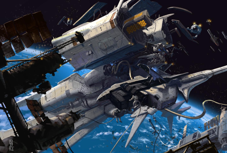 gundam space stations - photo #8