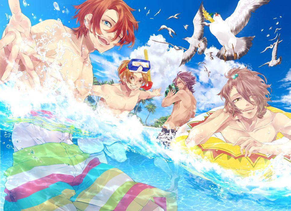 Pixiv summer original ocean     g wallpaper