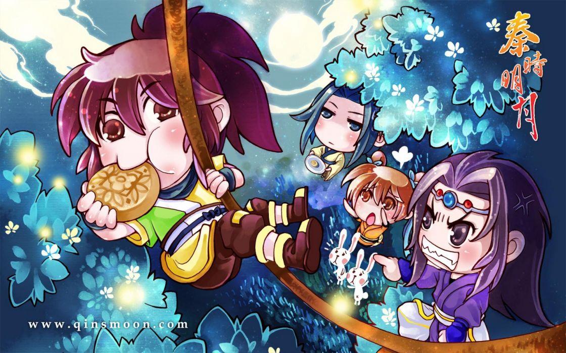 Qins Moon chibi   hj wallpaper