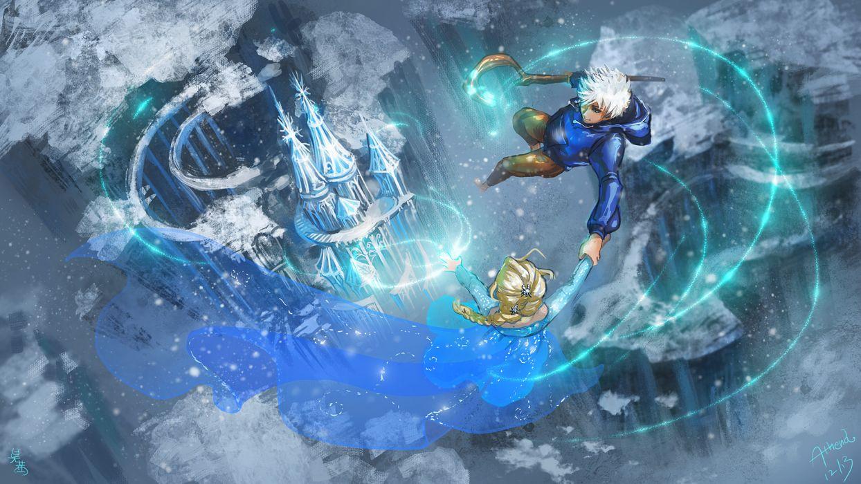 Rise of the Guardians Frozen disney       g wallpaper