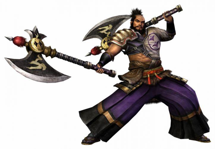 Sengoku Musou Shibata Katsuie warrior weapon fantasy g wallpaper