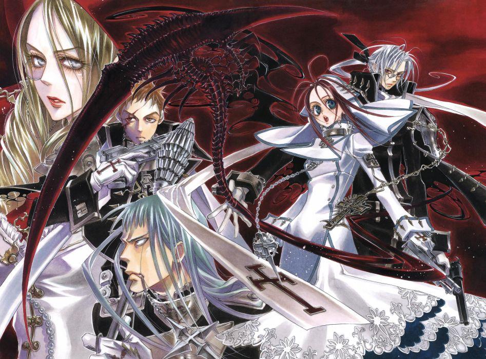 Trinity Blood goth gothic           g wallpaper