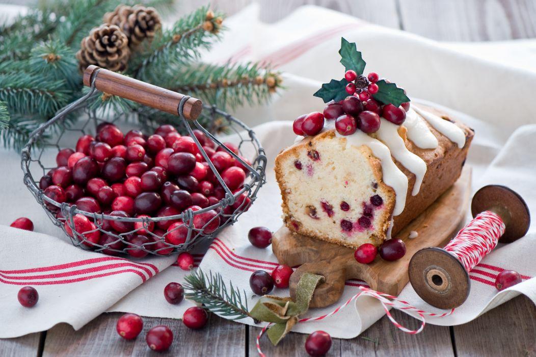 cake cranberries berries twine Katya cones still life   te wallpaper