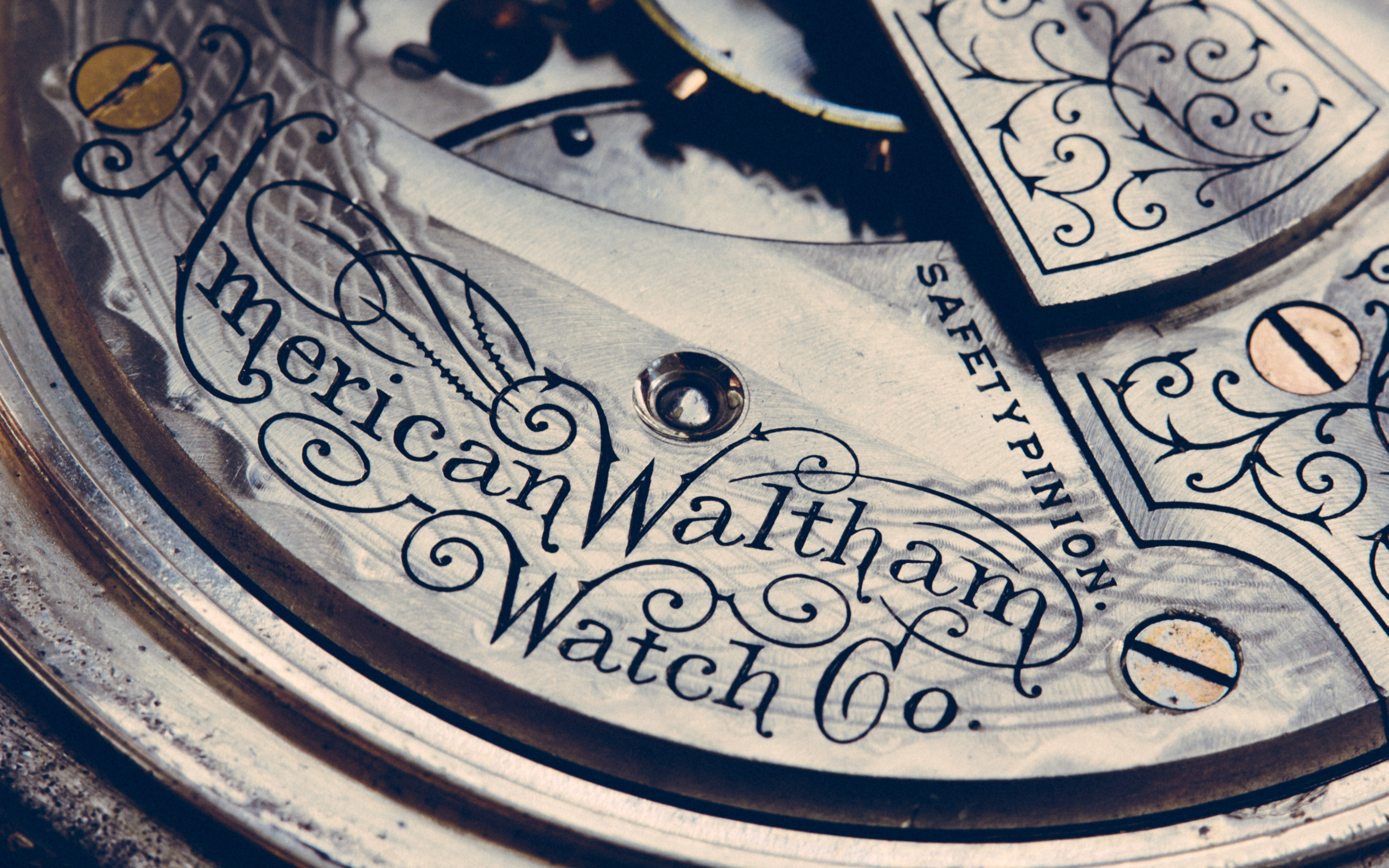 Watch Mechanism Wallpaper Clock Macro Mechanism Watch