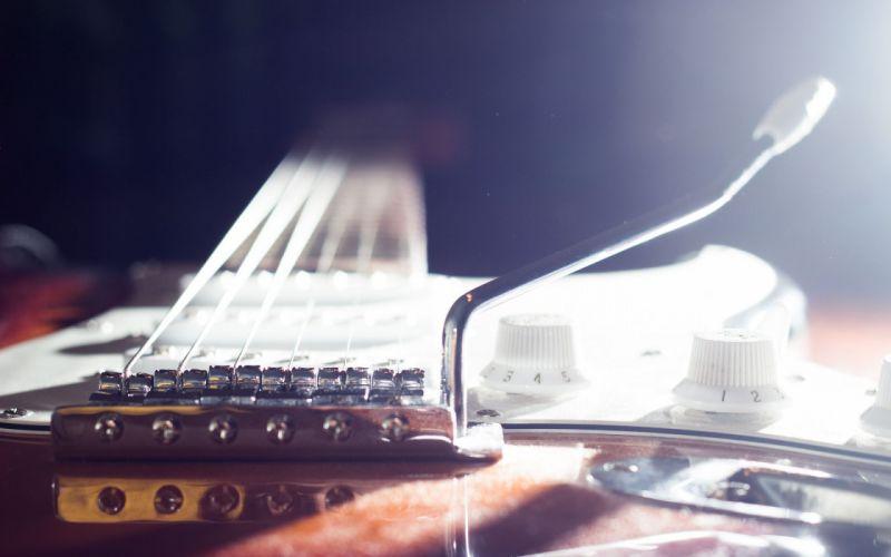 Guitar Macro wallpaper