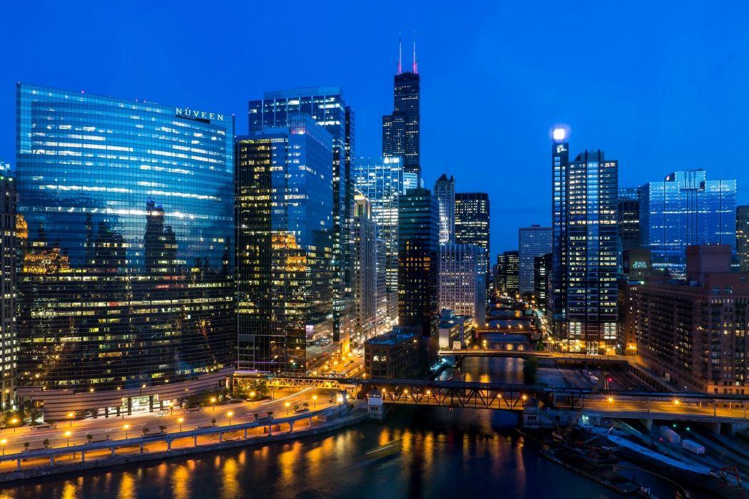 illinois chicago usa wallpaper