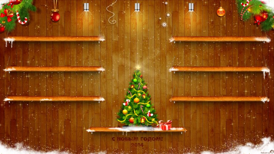 new year decorations h wallpaper