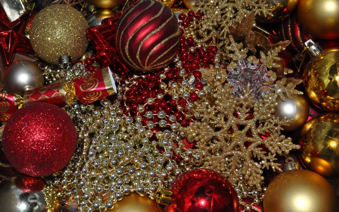 new year decorations  hf wallpaper
