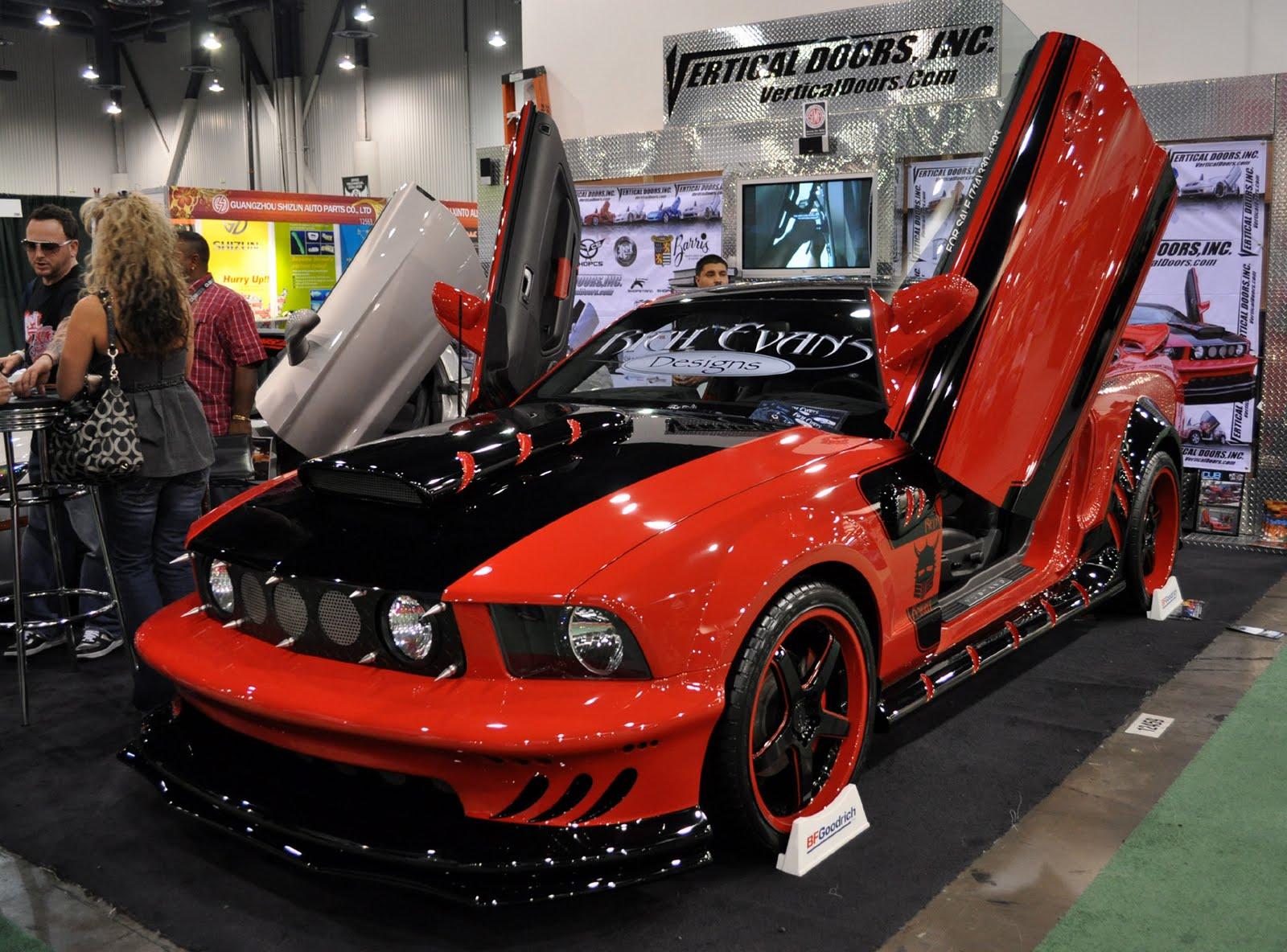 Custom Painted  Mustang