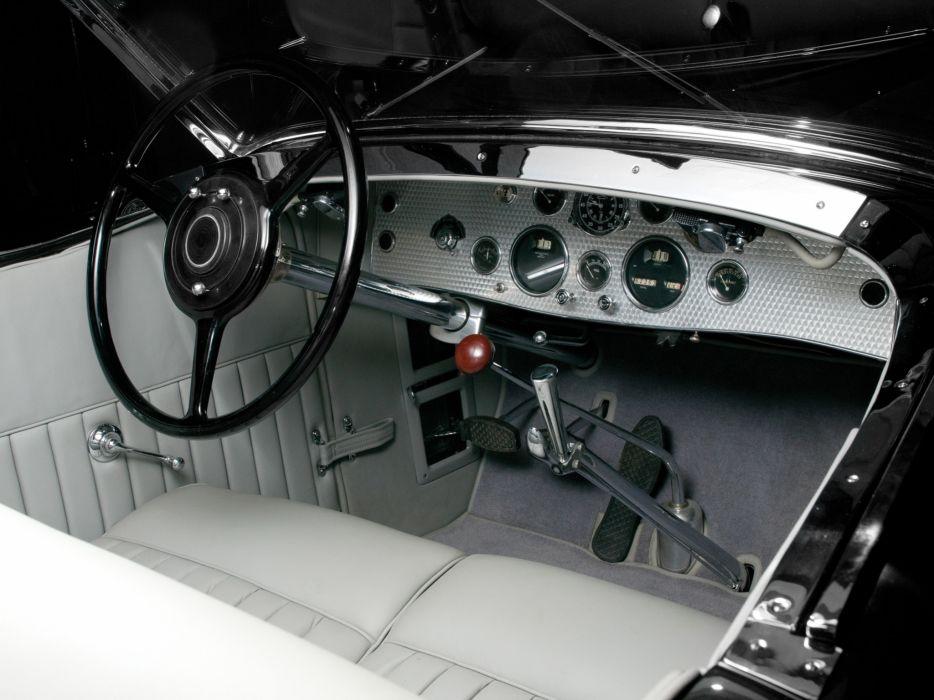 1929 Duesenberg Model- J 183-2201 Dual Cowl Phaeton LWB Murphy luxury retro interior     g wallpaper