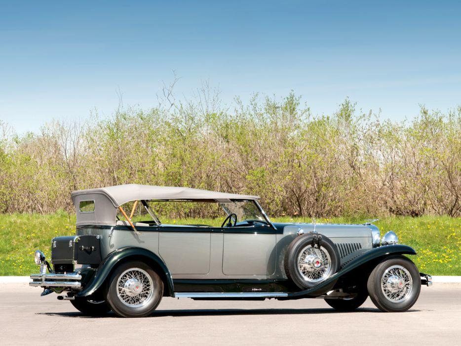 1929 Duesenberg Model- J 183-2201 Dual Cowl Phaeton LWB Murphy luxury retro     g wallpaper