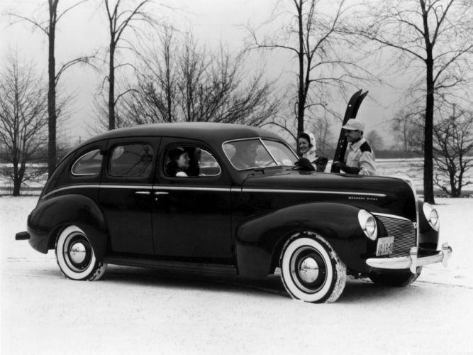 1940 Mercury Eight Town Sedan (O9A) retro h wallpaper
