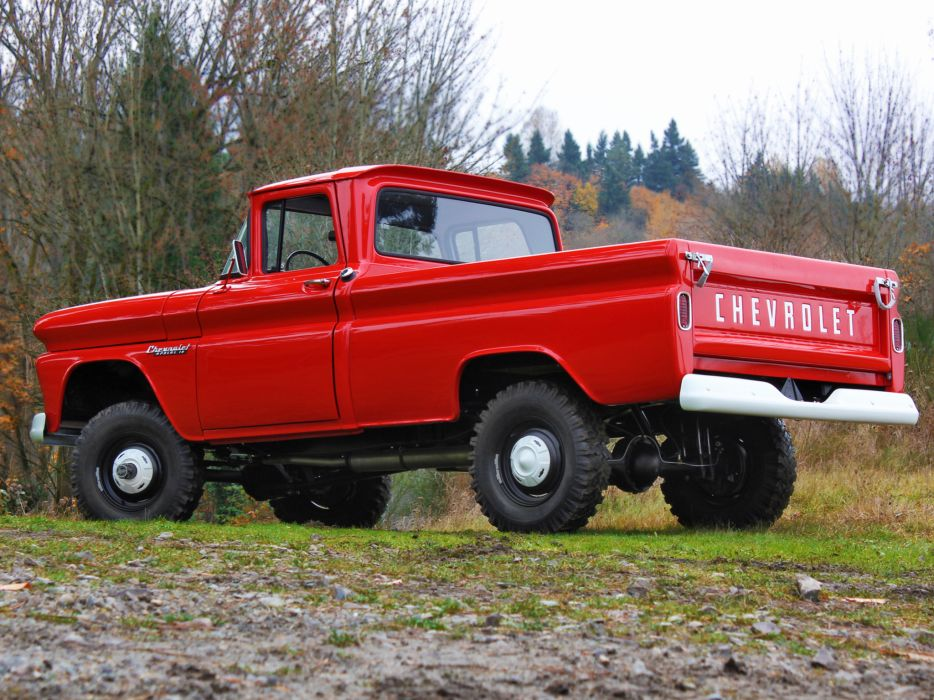 1960 Chevrolet Apache 10 Fleetside Pickup Truck (K14) 4x4 ...