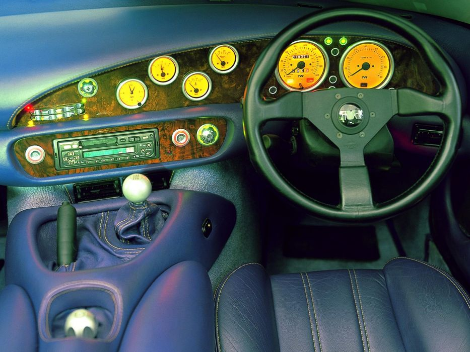 1992-2003 TVR Chimaera 500 sportscar interior    g wallpaper