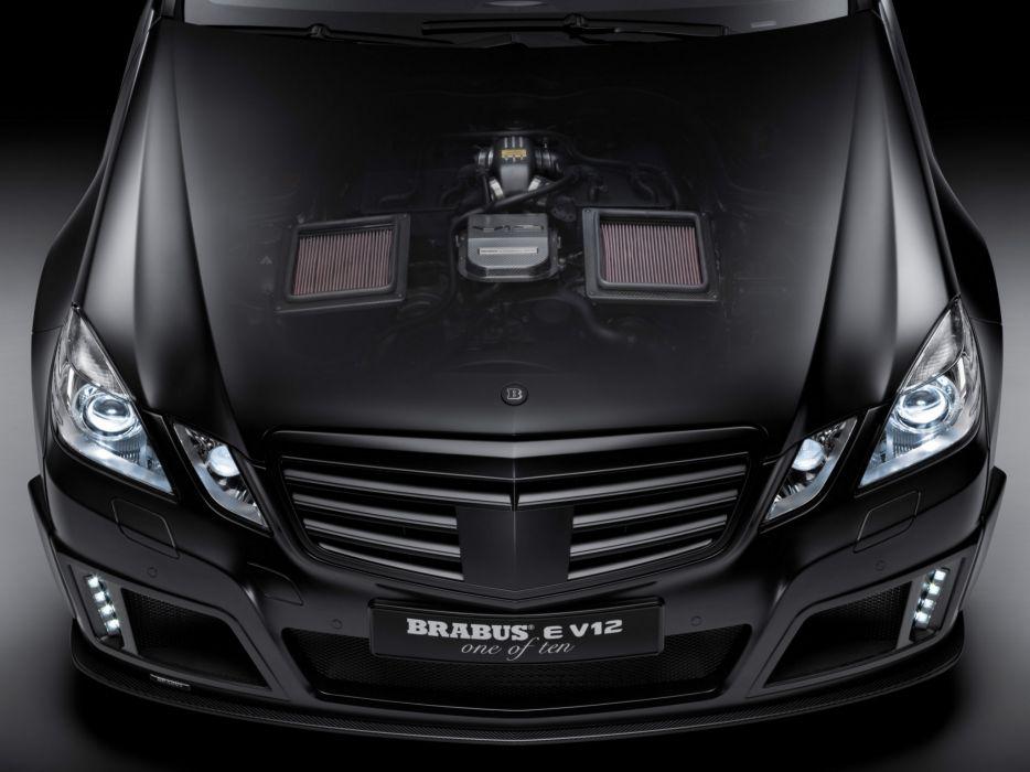2009 Brabus E Mercedes Benz V12 (W212) tuning  h wallpaper