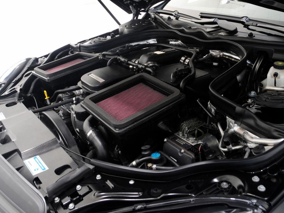 2009 Brabus E Mercedes Benz V12 (W212) tuning engine       g wallpaper