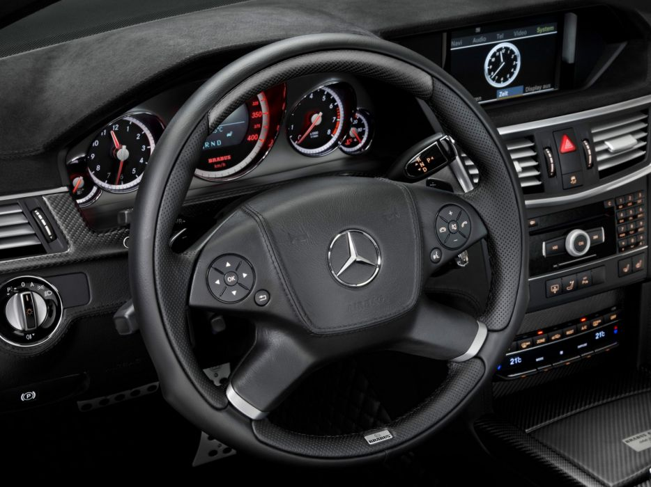 2009 Brabus E Mercedes Benz V12 (W212) tuning interior      g wallpaper