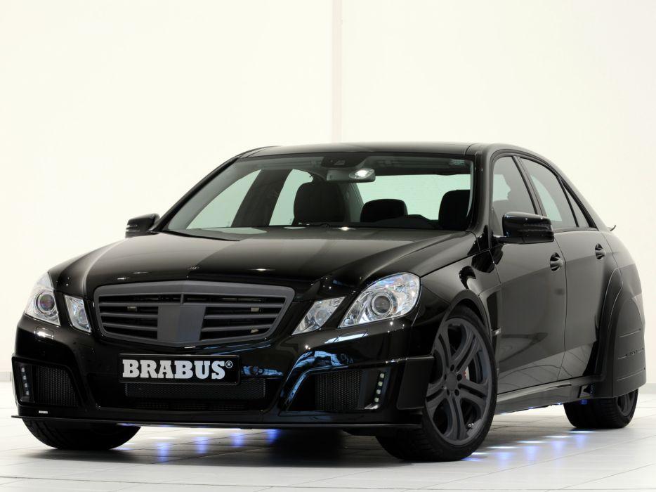 2009 Brabus E Mercedes Benz V12 (W212) tuning   r wallpaper