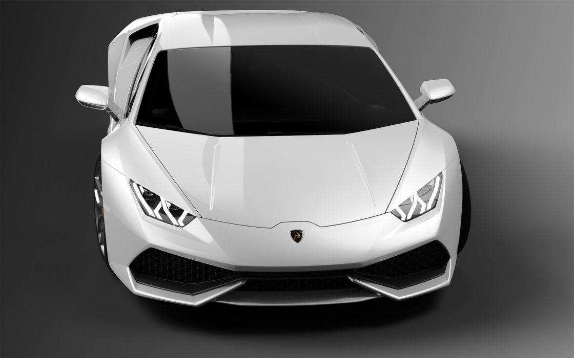 2014 Lamborghini Huracan LP610-4 supercar  h wallpaper