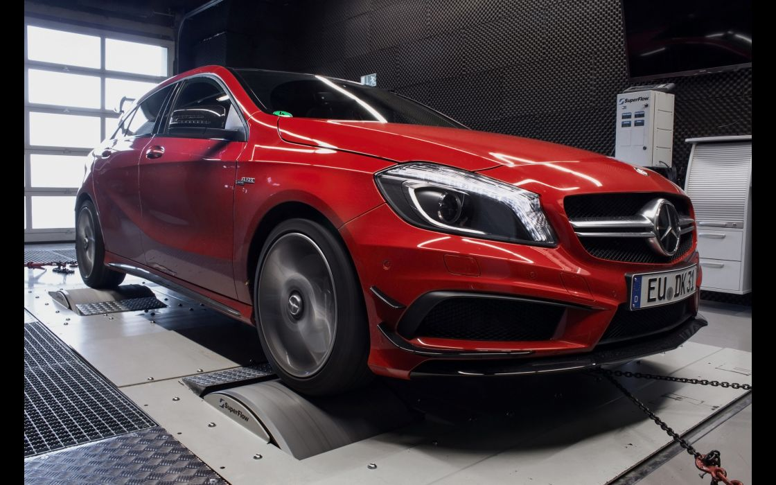 2014 mcchip-dkr Mercedes Benz A45 AMG tuning  j wallpaper