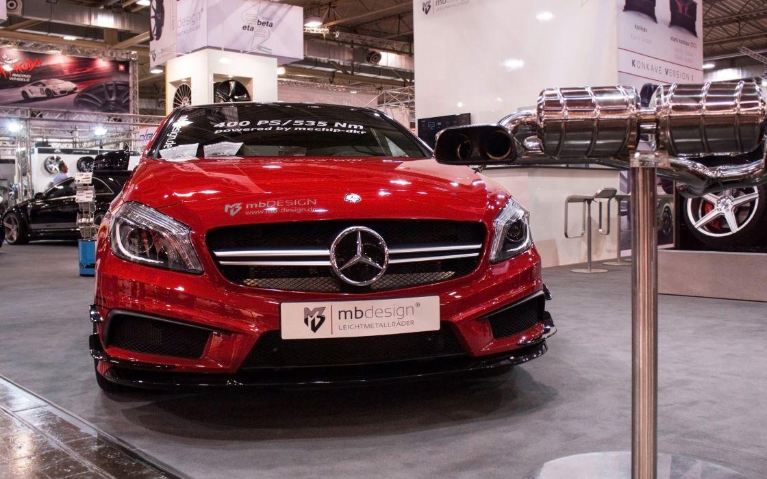 2014 mcchip-dkr Mercedes Benz A45 AMG tuning        g wallpaper
