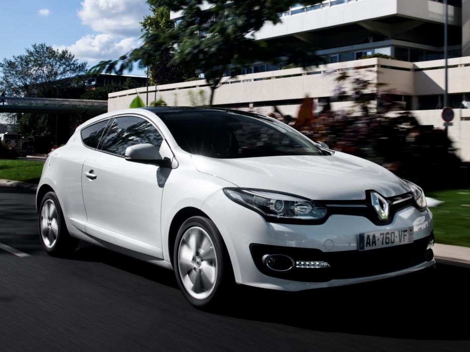 2014 Renault Megane Coupe  fs wallpaper