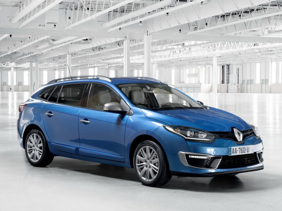 2014 Renault Megane G-T Line Estate stationwagon  f wallpaper