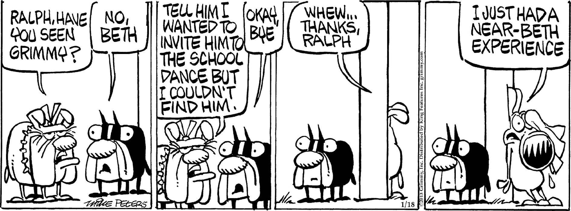 MOTHER-GOOSE-AND-GRIM mother goose grim funny humor comicstrip (1) wallpaper
