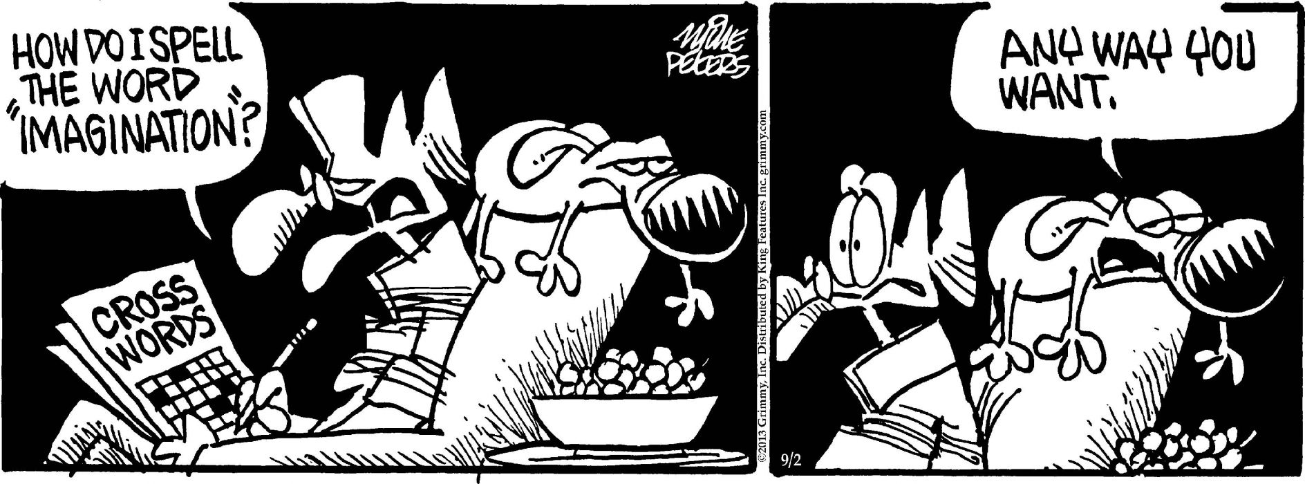 MOTHER-GOOSE-AND-GRIM mother goose grim funny humor comicstrip (18) wallpaper