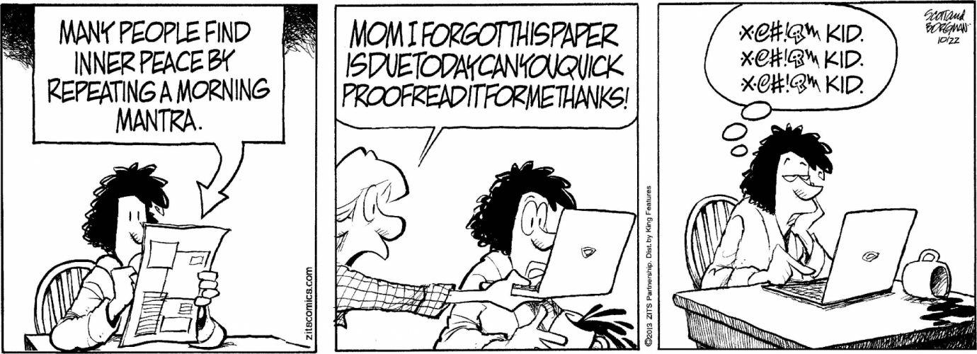 ZITS comicstrip humor funny (30) wallpaper
