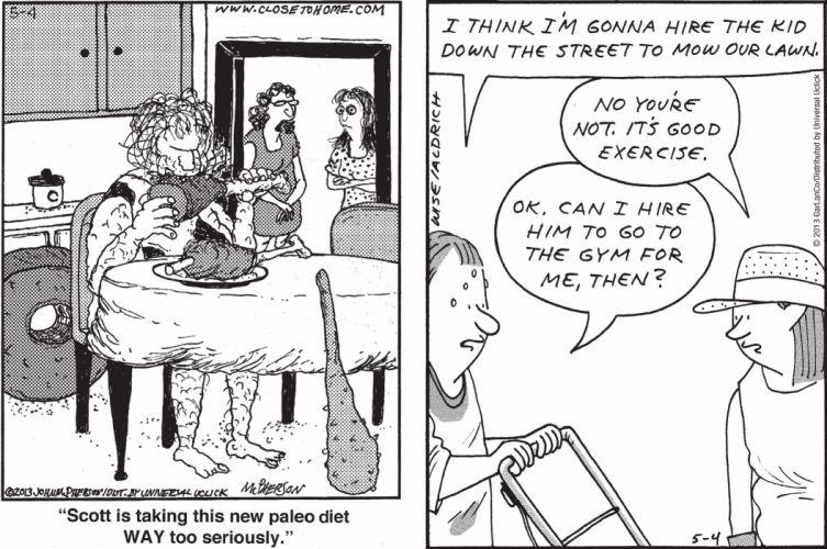 CLOSE-TO-HOME REAL-LIFE-ADVENTURES comicstrip (1) wallpaper