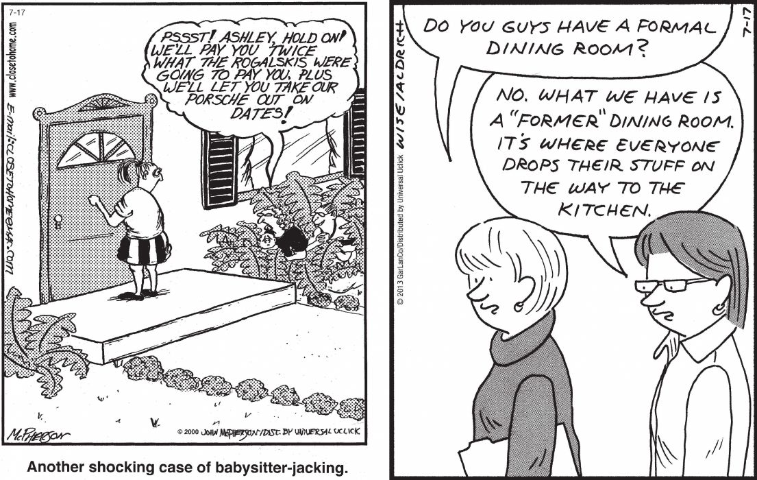 CLOSE-TO-HOME REAL-LIFE-ADVENTURES comicstrip (28) wallpaper