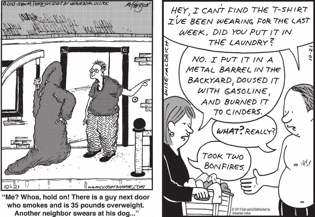 CLOSE-TO-HOME REAL-LIFE-ADVENTURES comicstrip (83) wallpaper