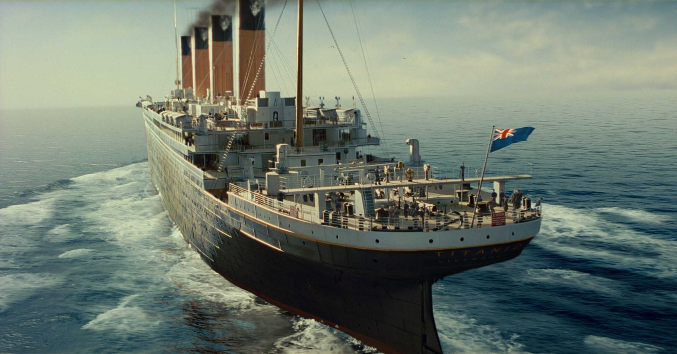 TITANIC disaster drama romance ship boat   h wallpaper