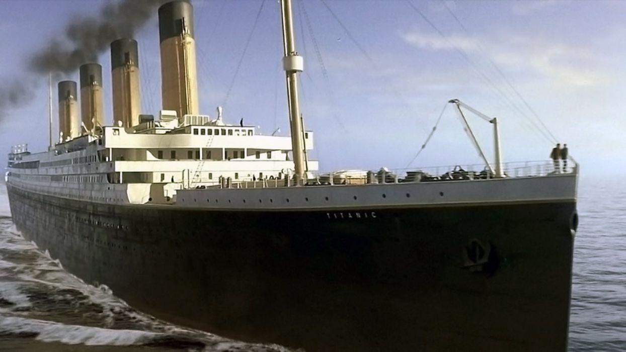 TITANIC disaster drama romance ship boat   t wallpaper